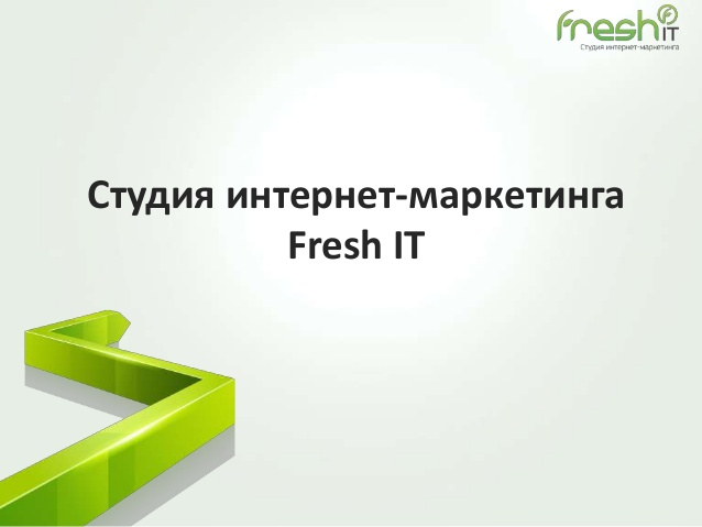 fresh it win presentation
